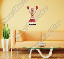 Boxing Boxer Glove Black Eye Fight Funny Wall Sticker Room Interior Decor 16X25""