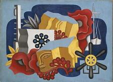 Nautical Still Life   by Jean Metzinger  Giclee Canvas Print Repro