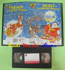 VHS film NATALE A CARTONI ANIMATI animazione 1993 AVO FILM 321153 (F105) no dvd