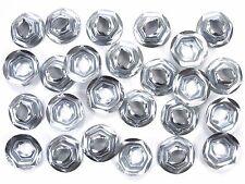 GM PAL Nuts- Emblem, Trim, Chrome etc- Fits 6.3mm Studs- 11mm Hex- 25 nuts- #081