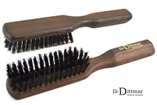 Dr. Dittmar Herren Haarbürste Frisierbürste Pflegebürste Naturborsten Thermoholz