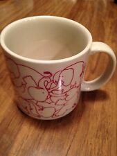Taylor & NG Elephant Orgy Mug Pink on Cream 1984 MINT!!!  Shows no signs of wear