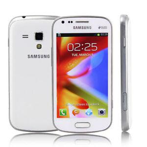 Samsung Galaxy S Duos GT-S7562 4GB 5MP GSM HSDPA 3G Unlocked Smartphone Whtie