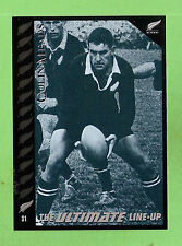"1995 NEW ZEALAND  ALL BLACKS RUGBY UNION CARD  #31  COLIN ""PINETREE""  MEADS"