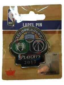 Boston Celtics Washington Wizards 2017  Playoffs Second Round Metal Lapel Pin