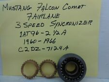 MUSTANG FALCON FAIRLANE & COMET 3 SPEED 6 CYL 2/3 SYNCRONIZER ASSY 1AT96-2.5A