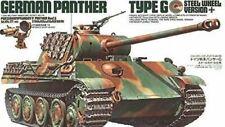 Tamiya Model Kit - German Panther Type G Steel Wheel Tank - 1:35 Scale 35174 New