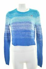 HOLLISTER Womens Crop Jumper Sweater Size 6 XS Multi Cotton  LW76
