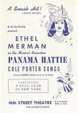 PANAMA HATTIE (BROADWAY) Movie POSTER 11x17 Ethel Merman Phyllis Brooks Joan