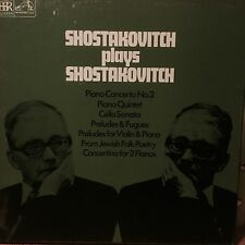 RLS 721 Shostakovich plays Shostakovich 3 LP box set