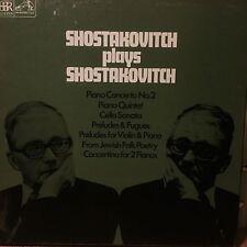 RLS 721 Shostakovich plays Shostakovich 3 LP box set