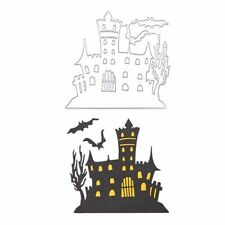 Halloween Castle Bat Cutting Dies Stencil DIY Scrapbooking Album Paper Card