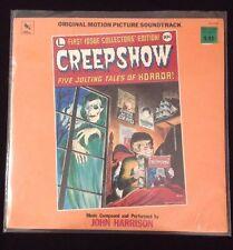 CREEPSHOW: 1982 ORIGINAL Soundtrack LP, Varese Sarabande In Cellophane Horror