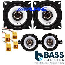 Fiat Punto MK1 1993-99 ALPINE 660 Watt 2 Way Front Dash & Rear Car Speakers Kit
