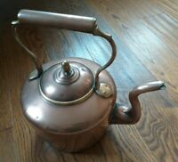 Collectable Vintage Large Copper Kettle
