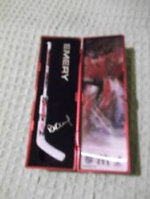 "McDonald's 2007-2008 NHL Star Sticks Emery  6"" stick hologram & case"