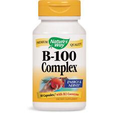 Natures Voie Vitamine B-100 Complexe Pour Cellulaire Énergie - 60 Capsules