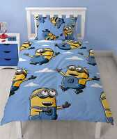 NEW BOYS SINGLE BED SIZE DUVET QUILT COVER SETS KIDS CHILDRENS CHARACTER DESIGN