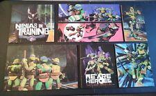 (7) Viacom Teenage Mutant Ninja Turtles Puzzles lot  pieces only. No boxes!