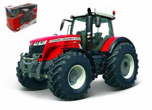 Model tractor Burago Massey Ferguson 8740S CM 10