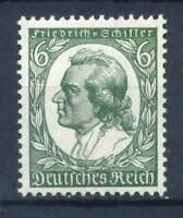 Deutschland 1934 Mi. 554 Postfrisch 100% Friedrich Schiller, Schriftsteller, 6