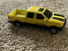 Yellow John Deere Pickup Truck Plastic