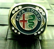 New ListingAlfa Romeo 14 Carat Gold Filled Signet Ring