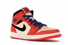 Nike Air Jordan 1 Mid SE Team Orange Size 10.5 852542-800