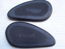 TRIUMPH PRE UNIT GAS TANK KNEE PAD RUBBER GRIP 1938-62 5TA T90 T100 T110 T120