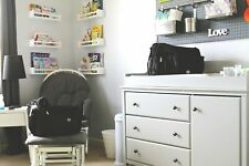 Mom and Dad Diaper and Gym bag, tablet/laptop storage changing pad