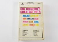 Rare Roy Orbison's Greatest Hits Clam Shell Case Cassette Tape, Very Nice.