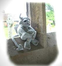 SIMON THE BALEFUL Gargoyle toy knitting pattern by  GEORGINA MANVELL