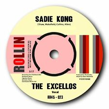 The Excellos Sadie Kong B W Rockinitis Extreme Blues Boppers Listen
