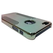 Silver Luxury Brushed Aluminum Chrome Hard Case For iPhone 5 & 5S +Film