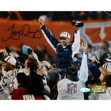 New listing Tony Dungy Football Hall of Fame AUTOGRAPHED Super Bowl 8x10 Steiner COLTS GIFT