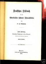 Lesebuch-Deutsches Lesebuch- 1899 --