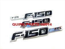 2009-2012 Ford F150 FX4 Right Left Fender & Tailgate Chrome Emblems Set OEM NEW