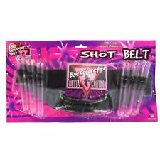 Bachelorette Ladies Night Outta Control Pink Party Favor Tube Shot Glass Belt