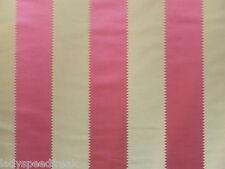 Zoffany Curtain Fabric BOHEMIA 1m Fuchsia Pink Stripe Design 100cm