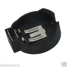 20 x CR2450 2450 3V Cell Coin Battery Socket Holder Case Black