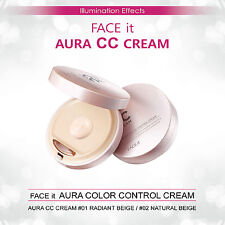 The Face Shop Face It Aura Color Control Cream (CC Cream) #1 Radiant Beige 20g