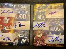 2019 Origins 6 Six 5/5 DK Metcalf Parris Campbell Diontae Johnson Terry McLaurin
