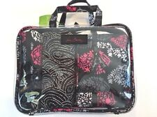 NWT Vera Bradley 4 Pc Cosmetic Organizer Northern Lights NEW Makeup Bag Set Pink