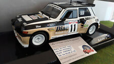 "1985 Renault Maxi Turbo ""#11 Tour de Corse"" Solido 118023"