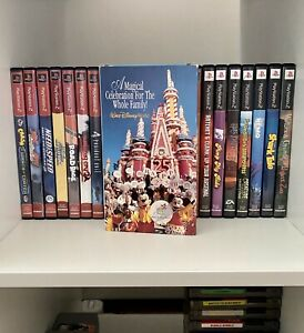 Walt Disney World 25th Anniversary - VHS - Tested