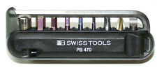 Pb swiss Tools 470. Black biketool bicicleta herramienta bolsillos herramienta set nuevo