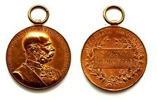 Medaglia Francesco Giuseppe I° D'Austria 1848-1898 Signum Memoriae, Bronzo