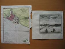 1750 - BELLIN - MALAYSIA City Plan Malacca with a 1766 view