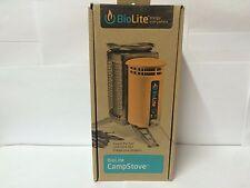 BIOLITE CampStove Portable Wood-Burning Stove Power Generator Survival and Camp