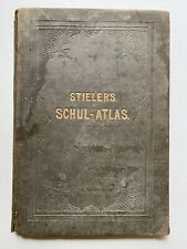 Stieler's Schul-Atlas 1882 by Dr. Hermann Berghaus, Publisher: Justus Perthes